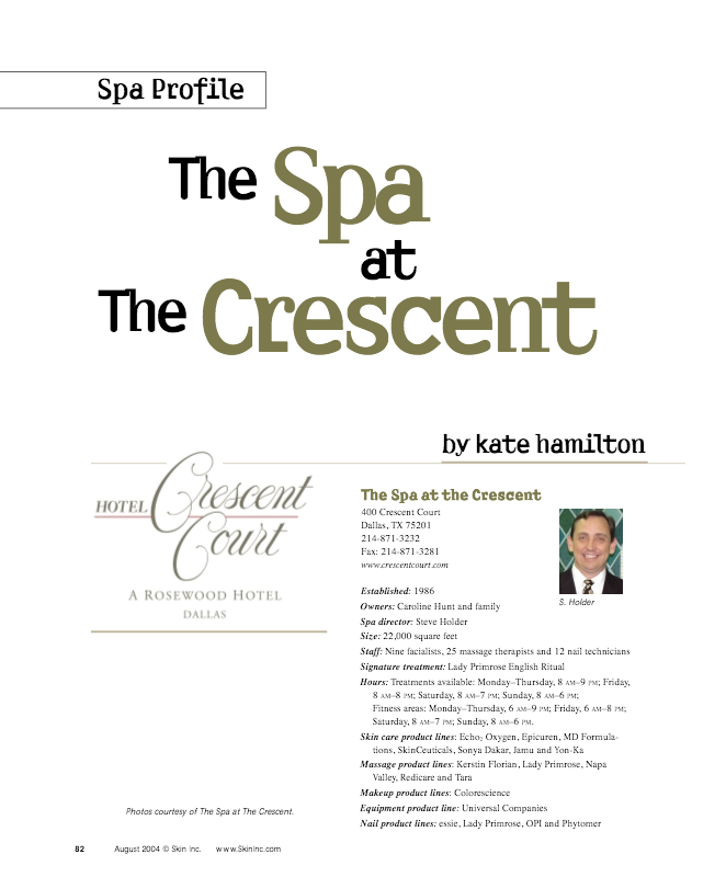 The Spa At The Crescent